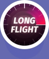 Long Flight icon badge
