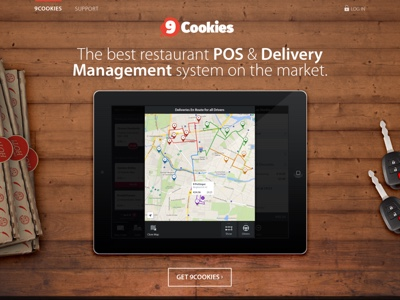 Design of restaurant POS and delivery system